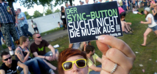 Der Sync-Button