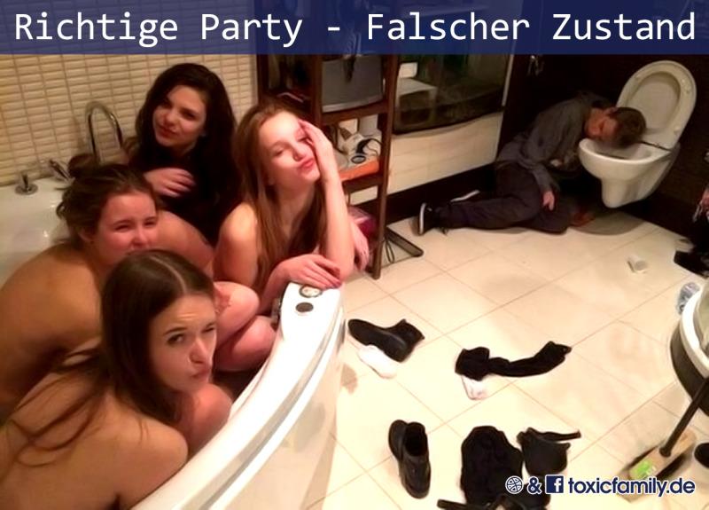 Richtige Party - Falscher Zustand