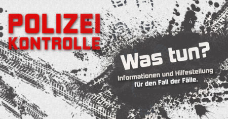 Polizeikontrolle - was tun?