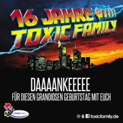 16 Jahre Toxic Family Setsammlung
