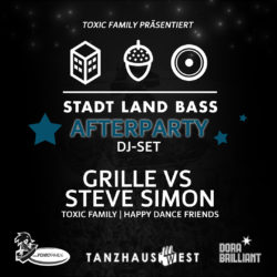 Grille vs Steve Simon @ Stadt Land Bass Afterparty