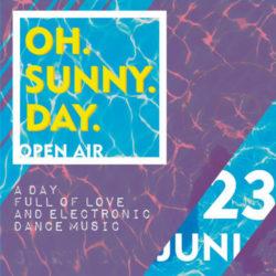 2018-06-23 - Steve Simon b2b Étienne | Oh Sunny Day OpenAir @ Sparta Frankfurt
