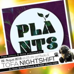 22.08.2018 - ToFa Nightshift mit Moritz Eckhardt & BLAER