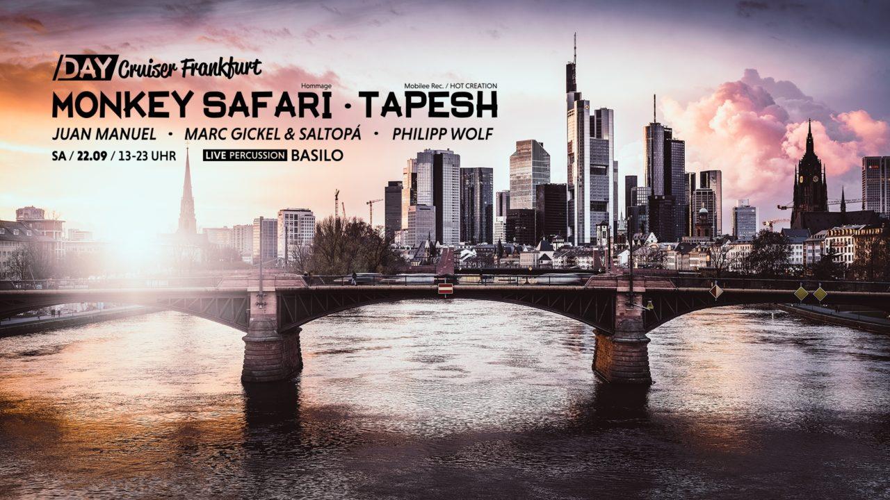 Day Cruiser Frankfurt mit Monkey Safari & Tapesh
