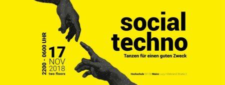 Benefizparty – Social Techno