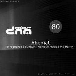 Digital Night Music Podcast 080 mixed by Abemat