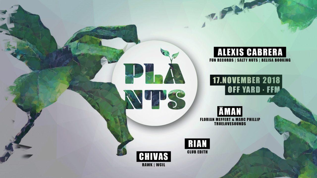 Plants mit Alexis Cabrera LIVE