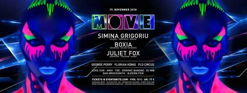 MOVE mit Simina Grigoriu, Boxia & Juliet Fox