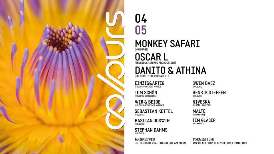 Colours with Monkey Safari & Oscar L