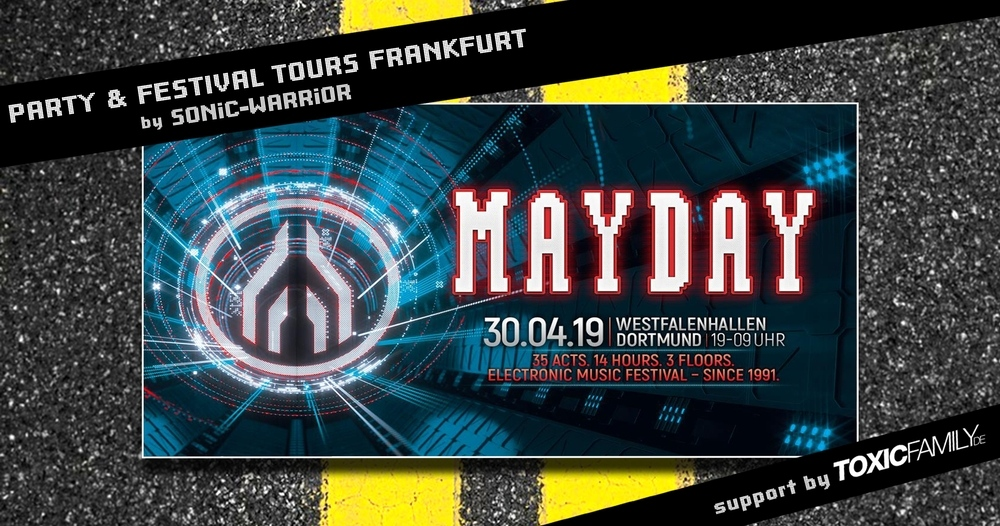 Bus-Tour zur Mayday ab Frankfurt