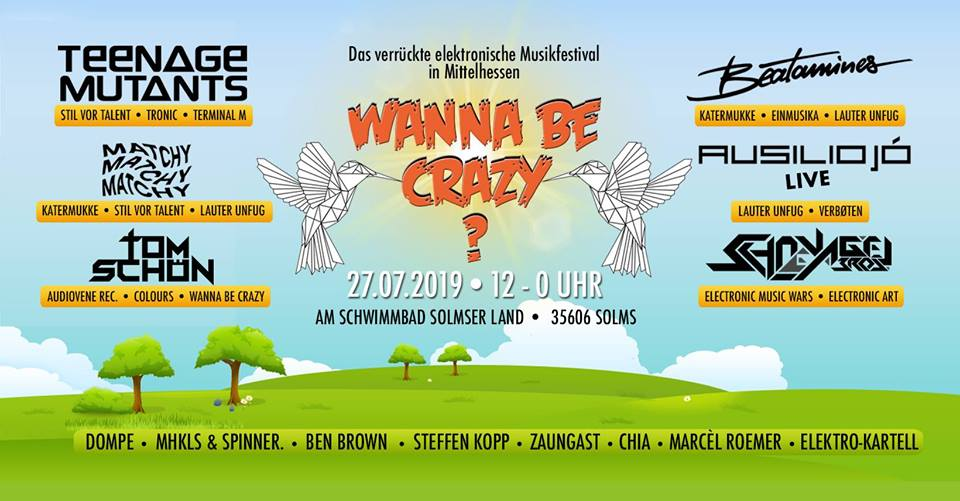 Wanna Be Crazy Festival 2019