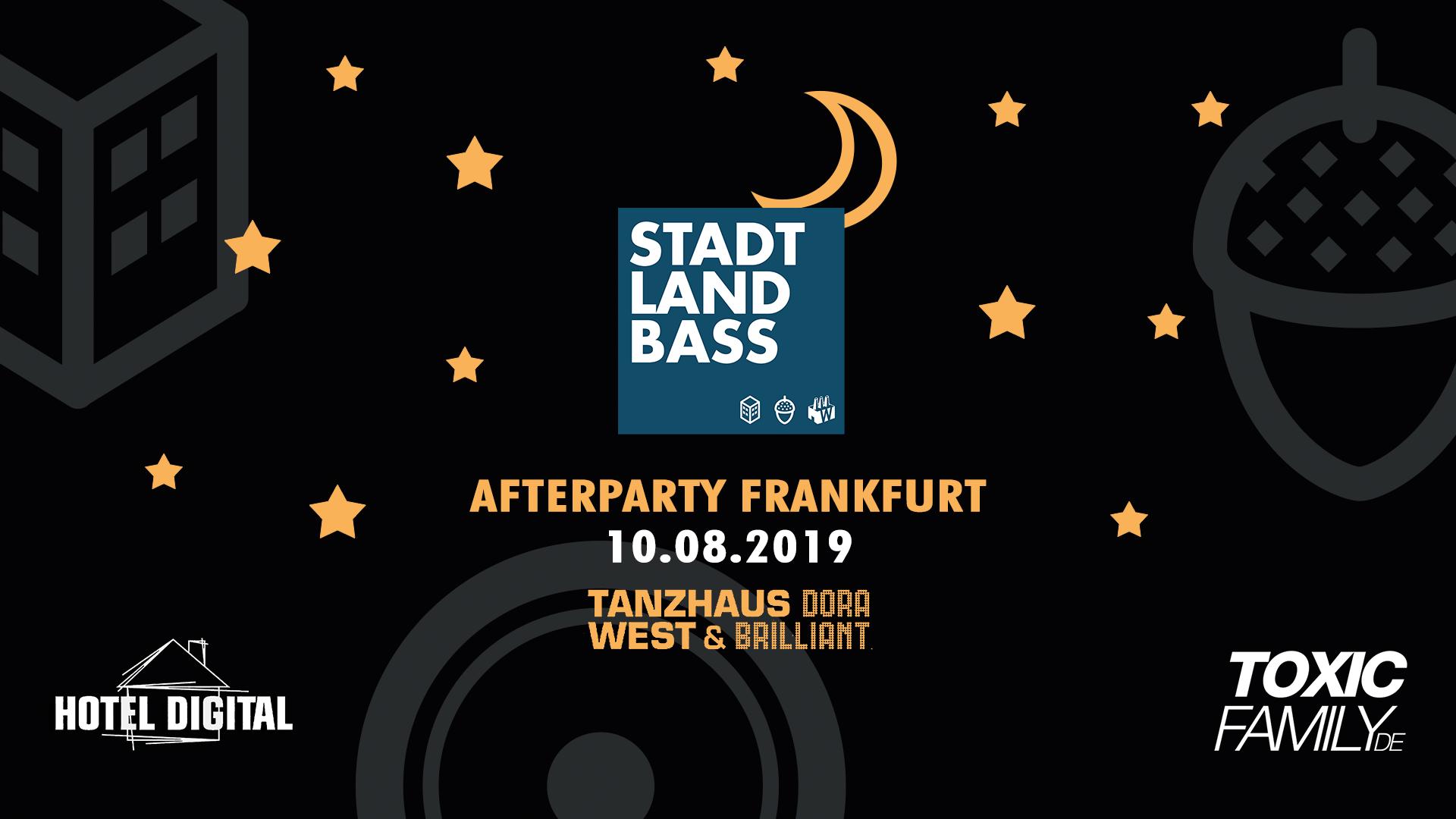 Stadt Land Bass 2019 Afterparty – Frankfurt