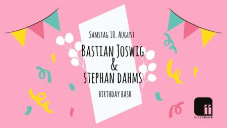 Bastian Joswig & Stephan Dahms Birthday Bash!