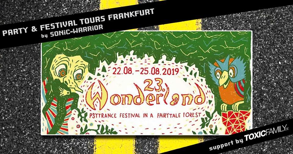Bus-Tour zu  Waldfrieden Wonderland 2019