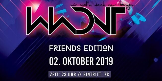 WWDNT – Friends Edition