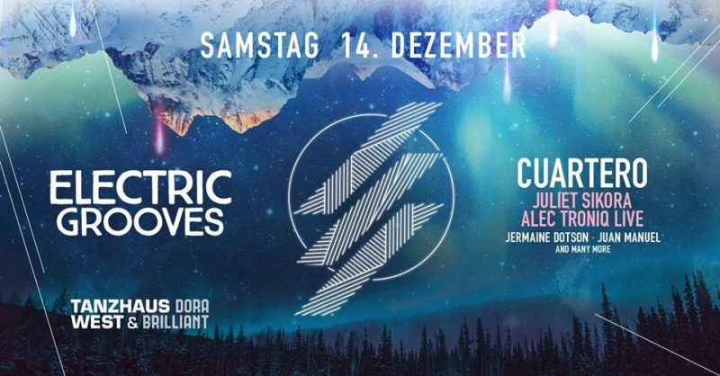 Electric Grooves with Cuartero & Juliet Sikora