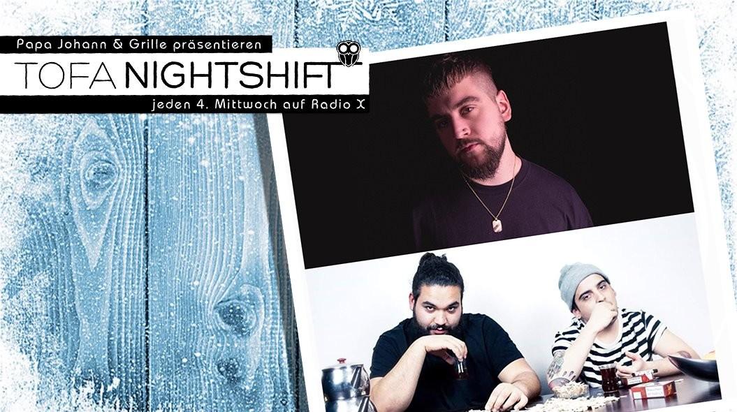 ToFa Nightshift auf RadioX